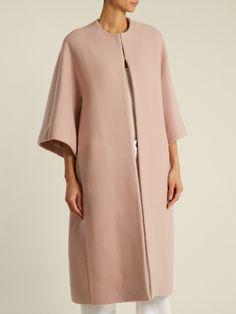Raey Dolman-sleeve wool-blend opera coat