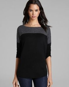 Joie Sweater - Arnie B Wool-Cashmere Color Block