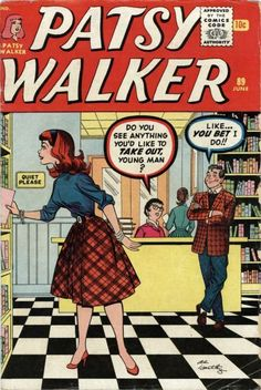 » Comic Collector Connect » Comic Database » Patsy Walker » #89