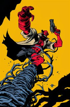 Hellboy by Yildiray Cinar