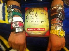 Gathered all the time on my hands (literally and figuratively) to go and buy and read #TheTimeKeeper @MitchAlbom