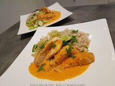 Edels Mat & Vin: Paprikabakt kylling med grønnsaker og fullkornsris (Grete Roede) Thai Red Curry, Ethnic Recipes, Food, Red Peppers, Eten, Meals