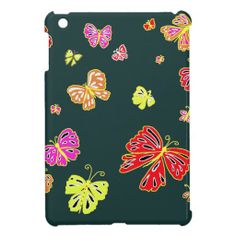 Butterflies at Night iPad Mini Cases