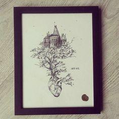 """ HOME ""  #illustration #drawing #Himallineishon #home"