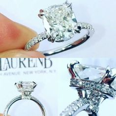 Lauren B jewelry rs-63 with split prong setting
