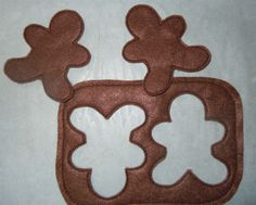 in+the+hoop+felt+food | Machine embroidery designs to make rolled out dough and gingerbread ...