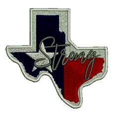 Texas Strong Embroidered Patch. $6.25. FREE SHIPPING! Embroidered Patch, Iron On Patches, Texas, Strong, Free Shipping, This Or That Questions, Shirt, Dress Shirt, Basketball Jersey