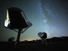 SETI - the search for neighbors continues.