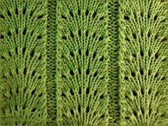 Fan Flare stitch pattern