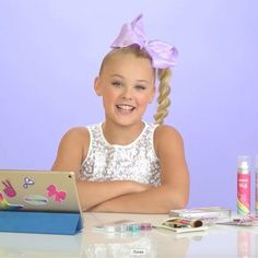 Get ready for the party season with @itsjojosiwa red carpet ready make up look over on our YouTube channel 'clairesstores'  #JoJosBowParty