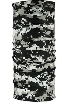 Gray Digital Camo | Hoo Rag