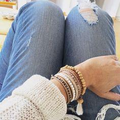 Find bohemian bracelets at www.muak.ch