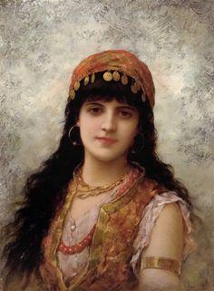 Emile Eisman Semenovsky (pintor franco-polonês – 1857-1911)