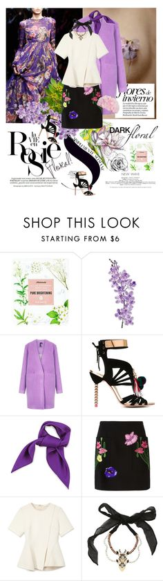 """""""Floral Trend for Fall 2015."""" by thenewshe ❤ liked on Polyvore featuring Mamonde, Whiteley, Laura Cole, Boutique, Sophia Webster, Christopher Kane, Alexander Wang, Dsquared2 and Betsey Johnson"""