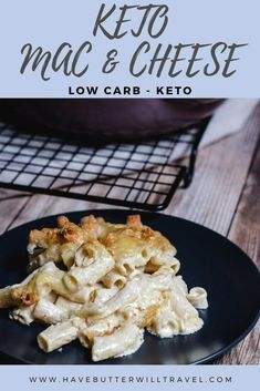 If you have been missing mac and cheese, this keto mac and cheese recipe will satisfy that craving for the real thing. #ketomacandcheese #lowcarbmacandcheese