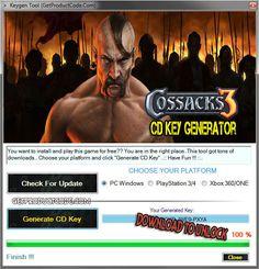 Cossacks 3 CD Key Generator Creator