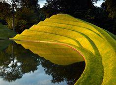 Close - Landscape design and land art in Scotland - Telegraph Urban Landscape, Landscape Art, Landscape Design, Garden Of Cosmic Speculation, Garden Art, Garden Design, Landscape Arquitecture, Green Architecture, Water Features