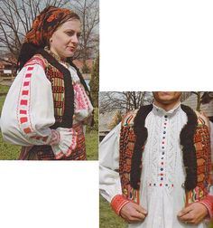 Beius, Transilvania Folk Costume, Costumes, Vest, The Incredibles, Traditional, Boho, Jackets, Fashion, Down Jackets