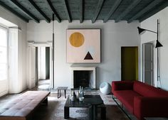 Salvatori apartment, styled by Elisa Ossino