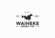WAIHEKE HONEY CO. by Jason Fantonial, via Behance