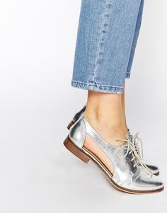 Image 1 - ASOS - MIGHT YOU - Chaussures de jazz en cuir à découpes