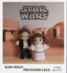 #amigurumi Star Wars Han Solo, Leia Beanie Pattern Free, Crochet Beanie Pattern, Crochet Toys Patterns, Stuffed Toys Patterns, Star Wars Crochet, Crochet Stars, Crochet Gifts, Crochet Things, Crochet Animal Amigurumi