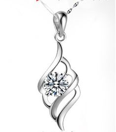 Find More Pendant Necklaces Information about Women Crystal Necklace Pendant 925 Sterling Silver Flowers Jewelry Purple Necklaces & Pendants Accessories Wholesale Ulove N570,High Quality jewelry boxes for teens,China jewelry lamp Suppliers, Cheap jewelry by the dozen from ULOVE Fashion Jewelry on Aliexpress.com