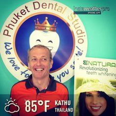 Teeth Whitening: Patient from UK @ Phuket Dental Studio