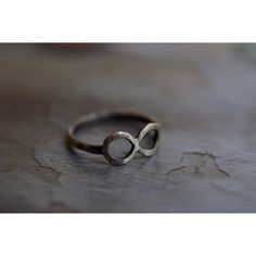 Sterling Silver Infinity Ring ($38) ❤ liked on Polyvore featuring jewelry, rings, infinity band ring, sterling silver jewelry, infinity ring, wrap rings and unisex rings