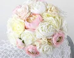 Image result for white hydrangea and peonies roses wedding