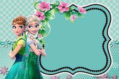 """Kit Aniversário """"Frozen Fever"""" para Imprimir - CALLY'S DESIGN-Kits Personalizados Gratuitos"""
