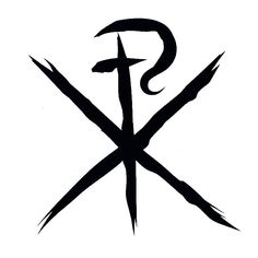 Chi (X) Rho (P) are the first two letters of the Greek word Christ. Description from pinterest.com. I searched for this on bing.com/images