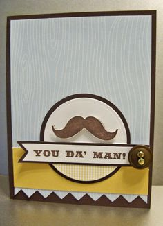 Card for men-Fathers Day or birthday card