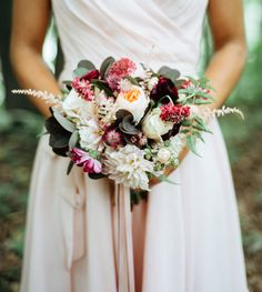 astilbe rose bouquet