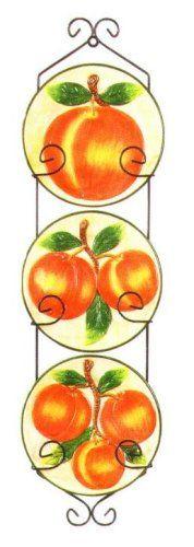 Kitchen Themes, Kitchen Decor, Peach Kitchen, Wall Hanger, Peaches, Metal Walls, Georgia, Fruit, Amazon
