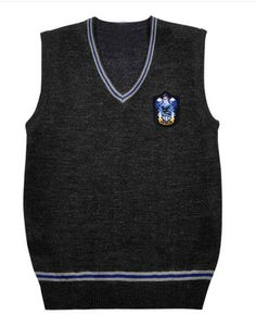 Harry Potter Sweater Hufflepuff Ravenclaw Slytherin Gryffindor Sweater Vest Harry Potter Cosplay Costume Halloween Costumes