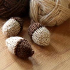 Ravelry: Project Gallery for Spiffy Little Acorn pattern by Revati Poole-free pattern
