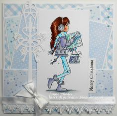LOTV - Jasmine Christmas Presents by Jayne Rhodes Christmas Presents, Christmas Crafts, Merry Christmas, Christmas Ideas, August Challenge, Valley Girls, Card Maker, Lily Of The Valley, Digi Stamps