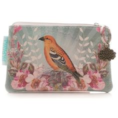 Papaya Art Golden Bird Coin Purse | Womens Accessories