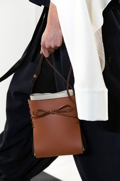 All of the Best Bags From the Fall 2020 Shows, in One Place - Fashionista Best Handbags, Best Bags, Loewe, New York Fashion, Fashion Show, Women Wear, Crossbody Bag, Purses, My Style