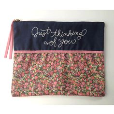 Flat pouch navy  http://bonony.thebase.in