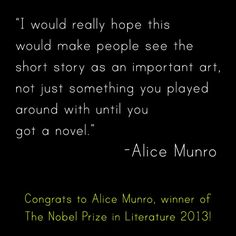 Alice Munro – Nobel Prize winner in Literature | Out of Print Clothing