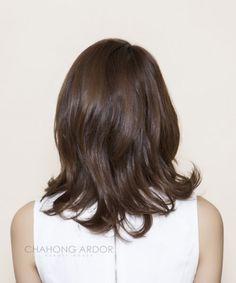 ↘ 단발머리 c컬 바디펌. 차홍아르더 헤어스타일. 위드플랜비 안녕하세요. 365일 예뻐지는 비결 ... Hairstyle, Long Hair Styles, Beauty, Haircuts, Colors, Hair Job, Hair Style, Long Hairstyle, Hairdos