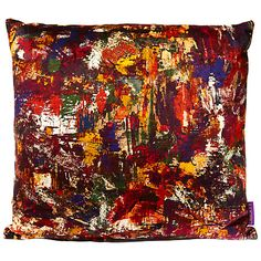 Buy Liberty Porthmeor Beach Cushion, Studio Vintage Velvet Online at johnlewis.com