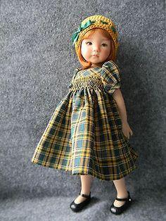 Sweet Smocked Dress for Effner Little Darling Doll by LKB | eBay. Ends 3/2/14. Sold for $24.99.