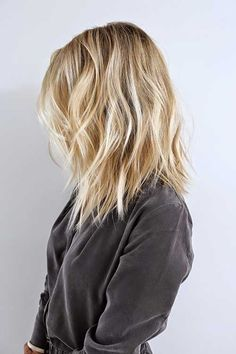 Natural Baby Blond Highlighted Hair