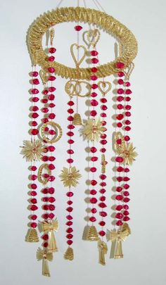 Straw Knotting Wind Chime