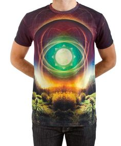 The Giant Peach - Imaginary Foundation - Encompass Sublimation Men's Shirt, $39.00 (http://www.thegiantpeach.com/imaginary-foundation-encompass-sublimation-mens-shirt/) / Inspiration for Threadless Sublimation Challenge! Submit here: http://bit.ly/1EAaiMP