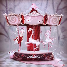 Carousel For Birthday by Natalie Shau