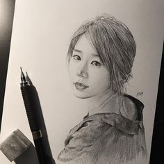 Goblin fan& beautiful character sketches of hit show go viral in Korea Portrait Sketches, Pencil Portrait, Cool Sketches, Drawing Sketches, Sketching, Character Sketches, Character Design, Goblin The Lonely And Great God, Goblin Kdrama